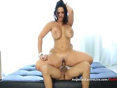 Busty Angelina Castro Rewards a Helping hand!