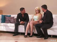Alexis Ford threesome with a double penetration and lots of anal