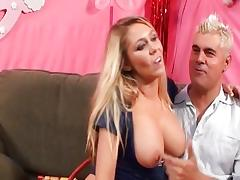 Brynn Tyler plays with her hot tits
