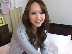 Luna pleasures as her romantic hubby awards her a steamy bed sex