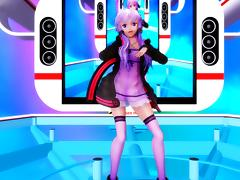 Happy Synthesizer - Yuzuki Yukari MMD R-18