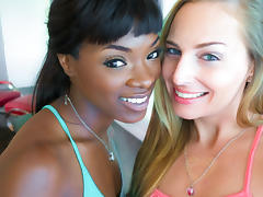 Ana Foxxx & Roxy Rox in A Hot Stroll Down the Boulevard Video