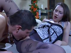PantyhoseLine Video: Crystal and Claudius