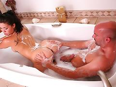 London Keyes in The Soapy Rest Stop Video