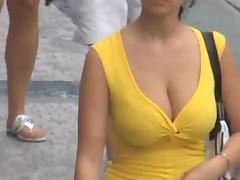 Candid - Busty Bouncing Tits Vol 18