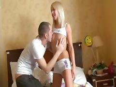 butthole joy with beautiful blonde babe