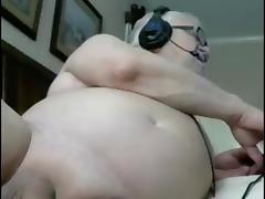 sexy grandpa play and cum in cam