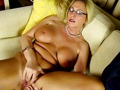 Busty Euro MOM with big pink hungry pussy