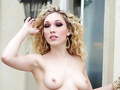 Pale beauty allows her lover to penetrate her pussy with a stiff cock
