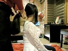 Chinese Hairjob 8