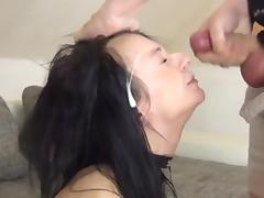 Not so shy couple fuck and cum compilation