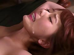 Enchanting Japanese girl Yui Hatano and her very first threesome