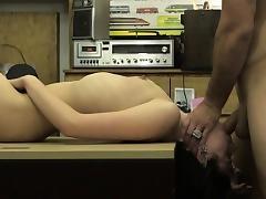 Blonde busty babe Kallie Joe rules one huge stiff dick