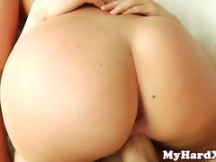 Pornstar AJ Applegate DPed in her tight ass