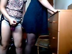 Crossdressing and pegging