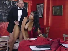 Top interracial sex with busty ebony beauty, Jenna J Foxx