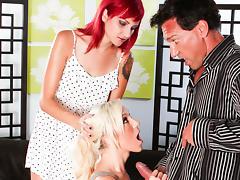 Maia Davis,Phoenix Askani in My Wife And I Are Fucking The Babysitter #04, Scene #03