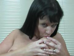 Mature granny dick thirst cherished with nice toy