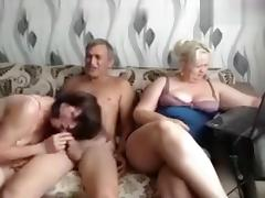Mature Russian Group Sex