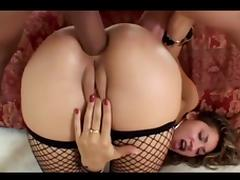 Anal DP Cum Farting Whore
