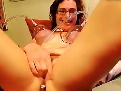 Amazing Homemade clip with Webcam, Mature scenes