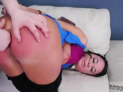 Asia bondage orgasm and anal fingering punishment Fuck my as