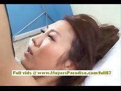 Shiori Tsukimi Japanese office worker likes hard sex