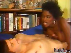 This slut rides a dick