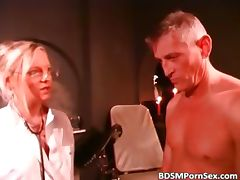 Hot blonde likes BDSM sex she fucks guys part5