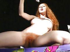 Annie The Natural Redhead