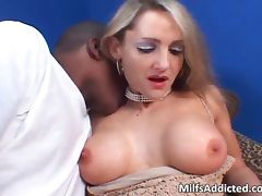 Lustful blonde MILF wants that huge