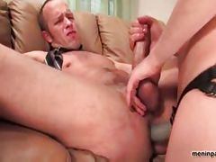 Rod Barry gets fucked in the ass by a chick