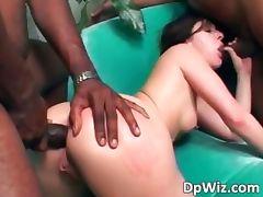 Hot slut enjoys in deep pussy and ass part3