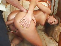 Anal with sexy Jennifer Stone