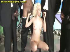 Blonde Helps Blacks By BJ