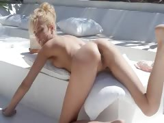 Amazing dream of beautiful wow blond