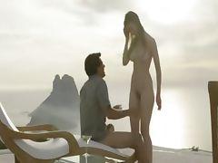 True pornstar enjoy charming outdoor sex