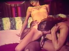 2 Teen Girls Fucking with Black Guy 1960