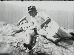 Hairy Hitchhiker Girl Fucked Outdoors 1930