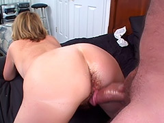 British Amateur MILF's Massive Hairy Cunt is Being Carefully Exploited by a Fuck Ready Man