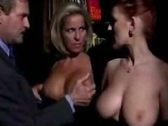 Horny italian milfs in hot threesome