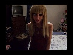 Teen JERK off instruction SO this girl starts off as a mistress type putting down the person this mo