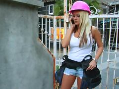 Ashlyn Rae Gets Turned on by Briana Blair In Hot Lesbian Clip