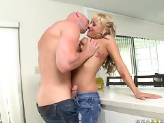 Blonde Beauty with Juicy Breasts Briana Blair Getting Fucked Hard
