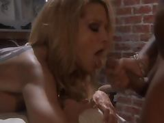 Stunning Blonde MILF Jessica Drake Gets Fucked Hard and Facialized