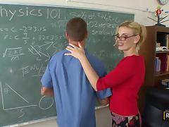 Anal Fucking The Hot Blonde Teacher Darryl Hanah