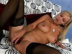 Blonde Teen Has A Wonderful Pair Of Big Natural Tits