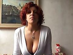 Naturally Busty Italian Amateur With a BDSM Fetish Gets Anal Fisted