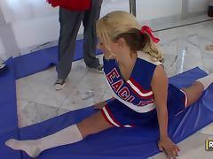 Briana Blair Enjoys Training And Stretching