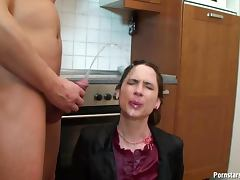 Fuck and piss on pantyhose girl